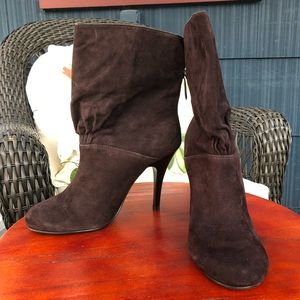 Rampage Elsa Brown Heeled Boots Brand New - 7.5